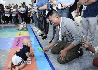 Baby Crawling Competition