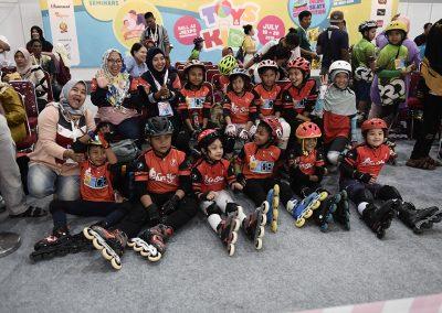 Roller Skate Kids Competition